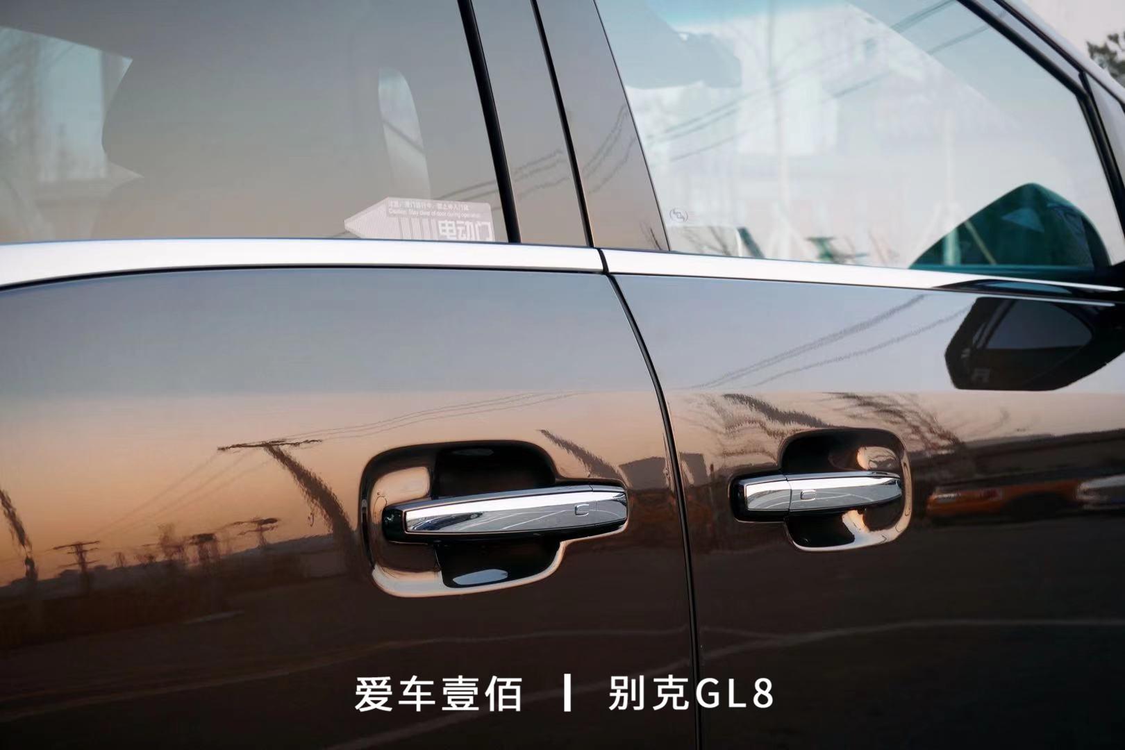 别克GL8【爱车壹佰】施工罗利普斯ROLIPS隐形车衣